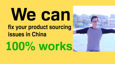 your Virtual Assistant in China and china sourcing agent.