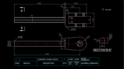 SAVE 10%, Mechanical Engineering drawing in 2D/3D