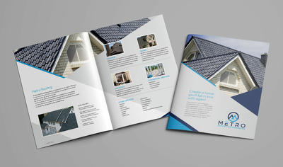 Design a professional quality brochure