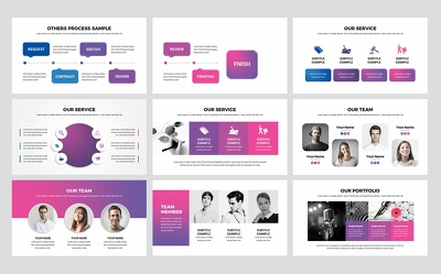 Design branded 10 slides Powerpoint presentation deck