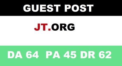 guest post on News Site Jt.org news website – DA 63 Jt Org