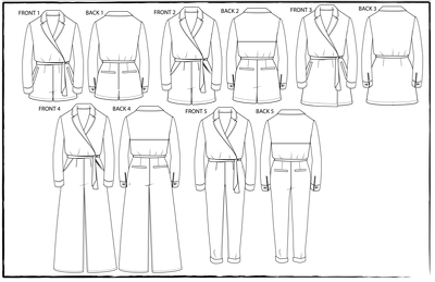 Provide a CAD fashion drawing