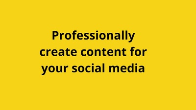 Professionally manage your social media accounts