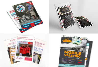 Design a double-sided A5 flyer / leaflet
