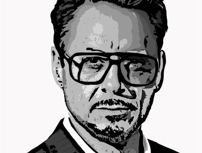 Create a face illustration/digital art.