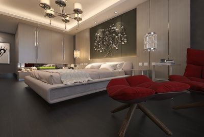Design your interior room with realistic rendering