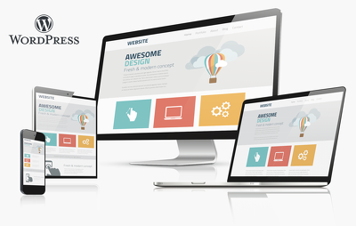 Build an 5 pages responsive corporate look website