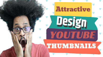 design 1 Viral Youtube Thumbnail in just 1 hour