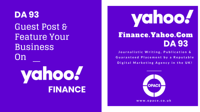 Write & Guest Post on Yahoo Finance DA93 - finance.yahoo.com