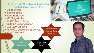 assist in Accounting work