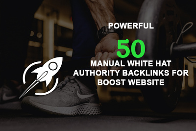 Create 50 manual authority back links