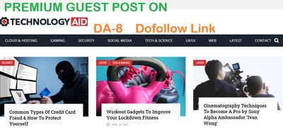 write and Publish Premium Guest Post on FreeTechAid.com