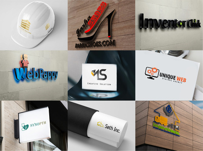 Design bespoke Outstanding Logo + Unlimited Concepts & Revisions