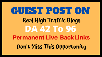 Do high da guest post on authority blogs