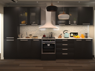 Design your kitchen with a realistic rendering