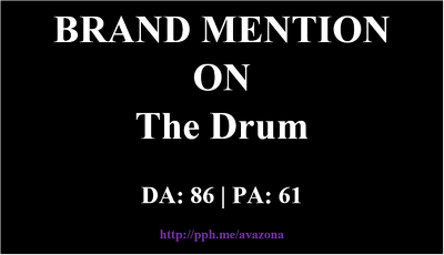 publish your article at TheDrum - TheDrum.com -- Brand Mention