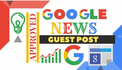 Build backlinks through blogger outreach on google news sites