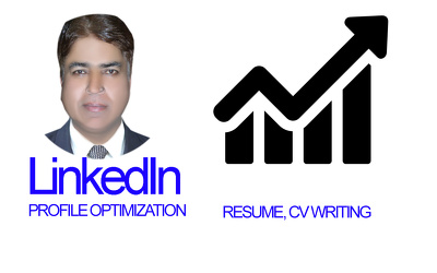 Optimize linkedin indeed profile, resume or cv, cover letter