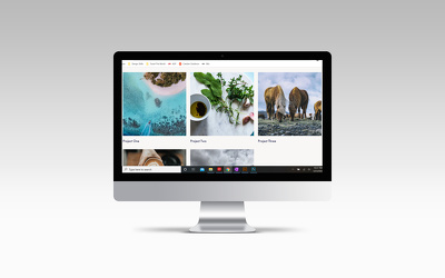 Build a branded Squarespace website (5-8 pages)