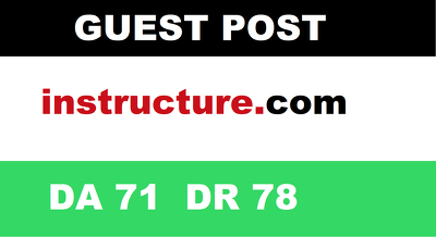 write & Publish Guest Post on Instructure DA71 - Dofollow Links