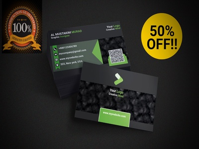 premium Quality Double Sided Business Card
