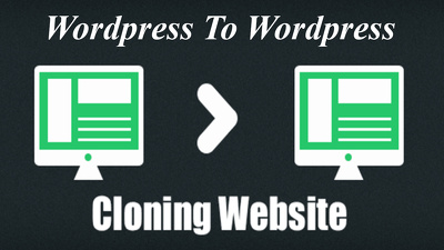 Clone wordpress website