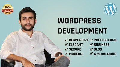 Develop Responsive, Fast & SEO friendly Wordpress Website
