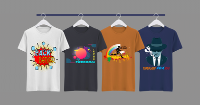 design t-shirt. stylish and typography