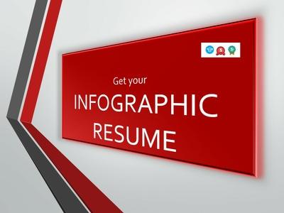 Design attractive Infographic Resume
