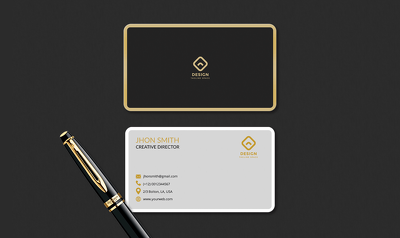 design professional luxury business card within 6 hours
