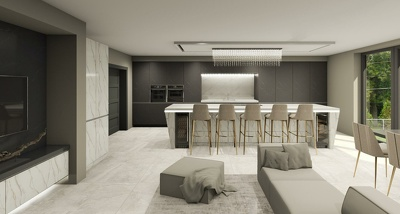 Design your kitchen in 3D and 2D