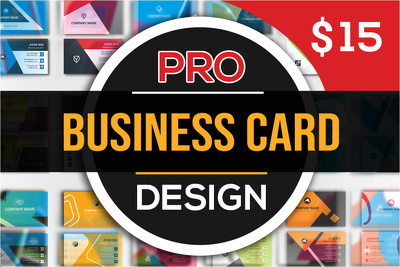 Design Premium Double Sided Professional Business card.