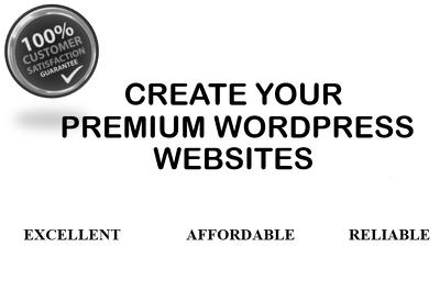 I will create and redesign WordPress website and WordPressblog