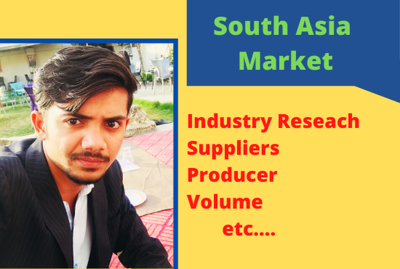 Do Research of any kind in South Asia Business Market