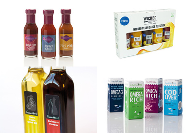 design a packaging range ready for print