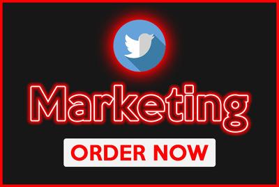 Do twitter marketing, twitter promotion or twitter management