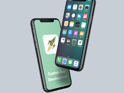 custom Mobile App Development for iOS or Android