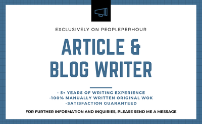 write a compelling 500 Words Article
