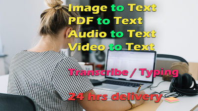 Transcribe Audio, Video, Image & PDF to Word or Google Document
