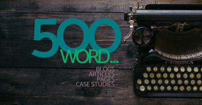 create 500 words of engaging, quality original content for you.