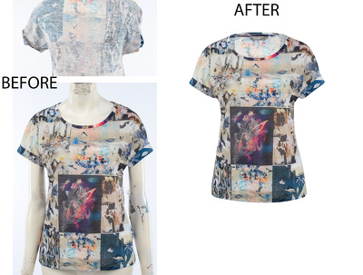 Complete editing 3D mannequin images for 30 sets