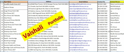 Do any Data Entry, data scrape and web research for you