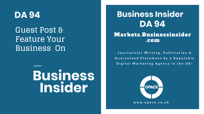 Write & Publish A Guest Post on Business Insider DA94