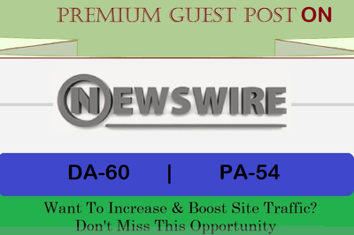 publish A Guest Post on Google News Site NewsWire.net