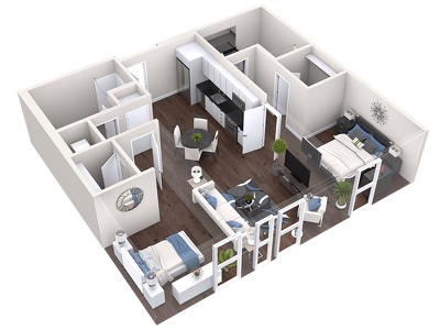 Convert your 2d plan and sketchs to a 3d floor plan