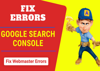 Fix all issues of google search console webmaster tools
