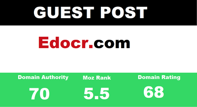 publish a guest post on Edocr - Edocr.com - DA70 dofollow