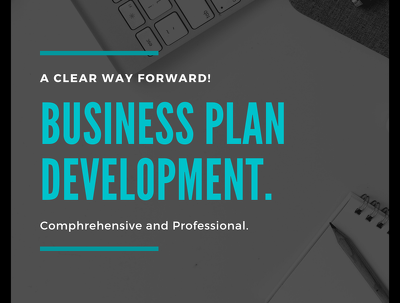 deliver Comprehensive Business Plan with financial projections