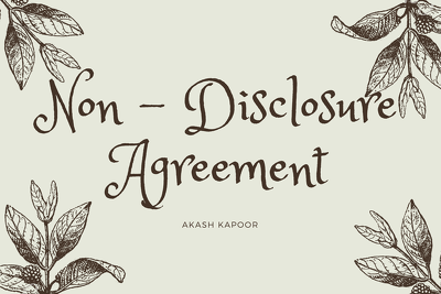 Expertly Draft a High Quality Non-Disclosure (NDA) Agreement