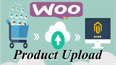 Upload products to your woocommerce online shop